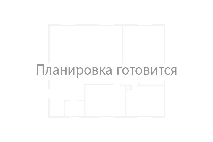 Планировка Однокомнатная квартира площадью 35.98 кв.м в ЖК «Шуваловский»